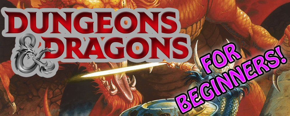 Dungeons and Dragons For Beginners J-Con Panel